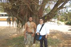 HRH Prince Africa Zulu of Onkweni and a Friend from Spain, Mr Patricio Geralt